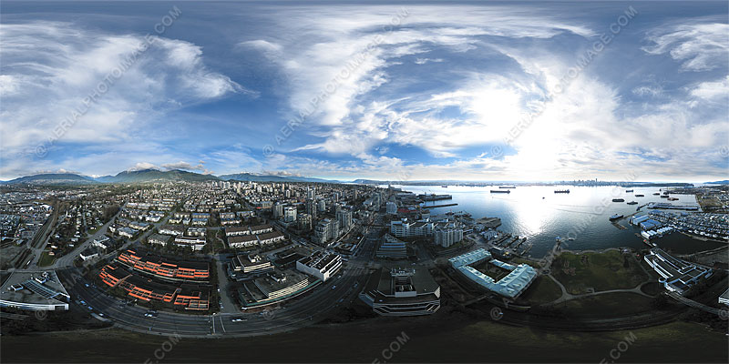 360 degree Aerial Panorama